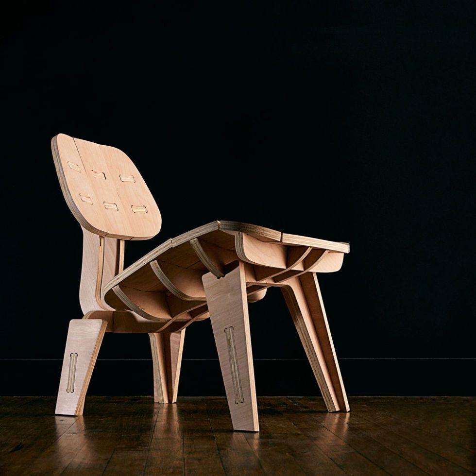 Build Your Own Beautiful Flat-Pack Chair