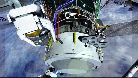 Spacewalk Animation
