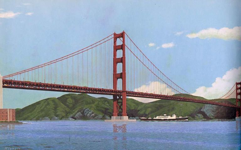 How would they build the golden gate bridge if they had to for Golden gate bridge jewelry