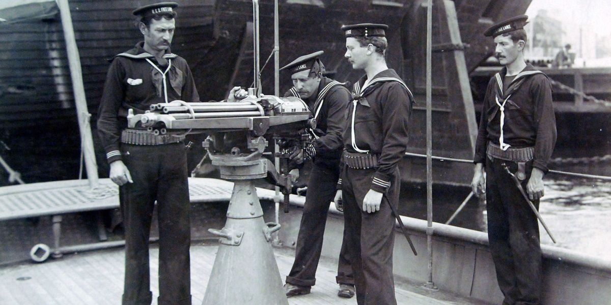 The Story of the Gatling Gun