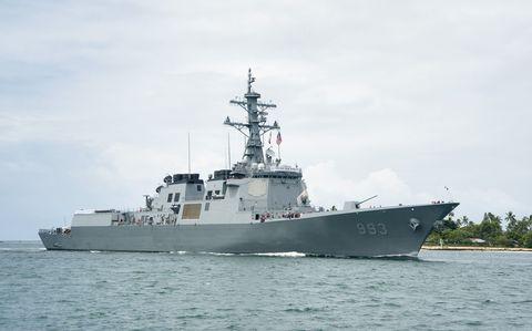 Watercraft, Naval ship, Water, Boat, Liquid, Navy, Naval architecture, Warship, Destroyer, Ship,