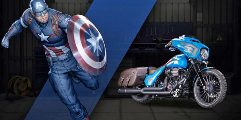 Harley Davidson: Harley And Marvel Built A Series Of Badass Custom