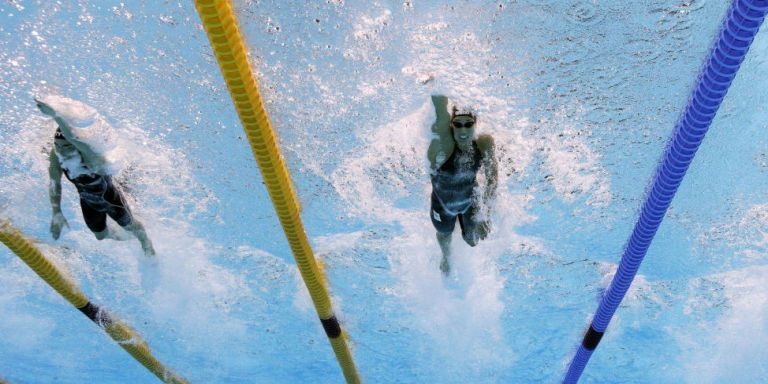 The Olympic Swimming Pool May Have Given Some Swimmers an Unfair Advantage