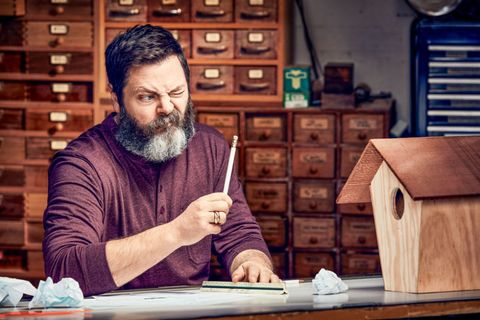 Nick Offerman Is The World S Funniest Woodworker