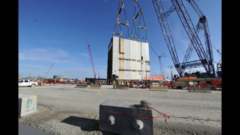 CA20 Module Installation at Vogtle Nuclear Power Plant