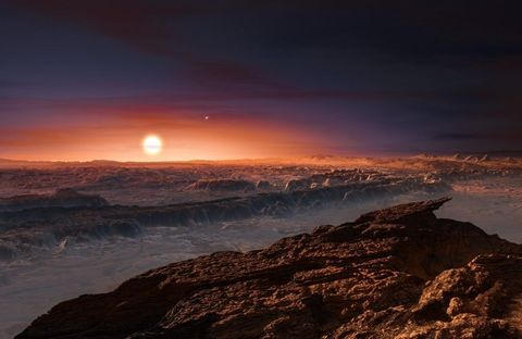Earth-Like Planet Found Orbiting the Nearest Star to the Sun
