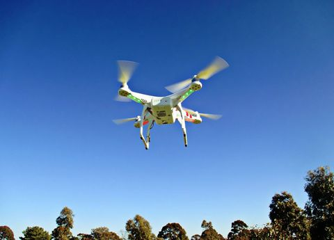 Sky, Aircraft, Sunlight, Air travel, Adventure, Extreme sport, Flight, Wing, Drone, Aerospace manufacturer,