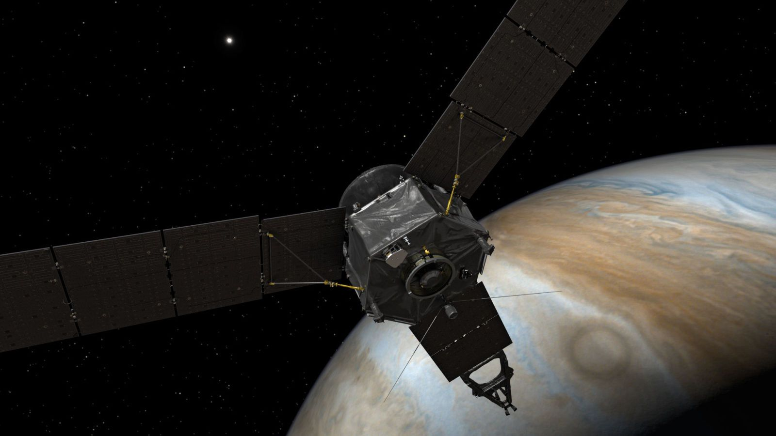 Juno Is About to Make Its Closest Approach to Jupiter