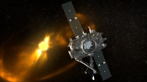 STEREO Spacecraft Observing a Coronal Mass Ejection