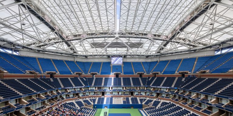 The Fantastic Roof Floating Over The U S Open