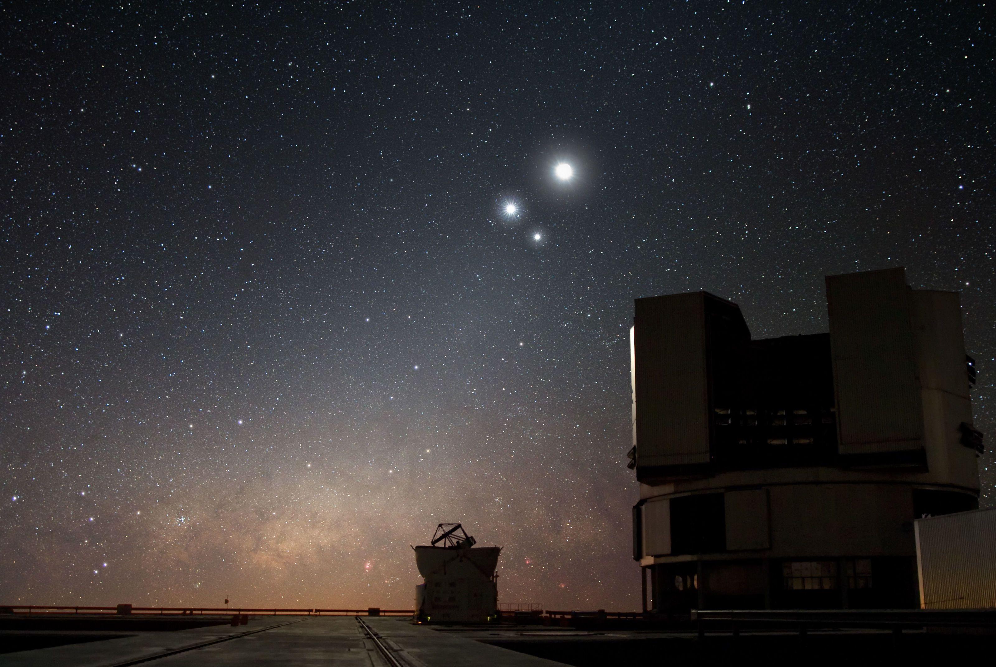 Tonight, See A Rare Close Encounter Between Venus And Jupiter