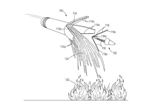 Boeing Patented a Way to Fight Forest Fires With Artillery