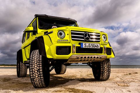 There Is Only One Mercedes G-Wagen G-Squared in America and I Drove