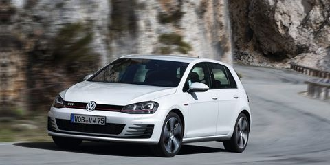 """<p>The Volkswagen has been the king of hot hatches for years, and we can't see that changing anytime soon. It's more refined than ever before, but it's still a blast to drive. We recommend springing for <a href=""""http://www.roadandtrack.com/new-cars/future-cars/news/a29704/2017-volkswagen-gti-sport/"""" target=""""_blank"""">the GTI Sport</a> and leaving it at that. But if you want even more power and all-wheel drive, <a href=""""http://www.roadandtrack.com/new-cars/first-drives/reviews/a24608/first-drives-2015-volkswagen-golf-r/"""" target=""""_blank"""">the 292-horsepower Golf R is a great buy</a>, as well.</p>"""