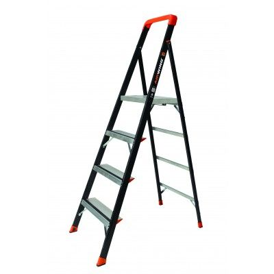 "<p><strong data-redactor-tag=""strong"">WEIGHT RATING</strong>:&nbsp;375 lb</p><p><strong data-redactor-tag=""strong"">LIKES:</strong>&nbsp;Thanks to its light weight, comfortably sized platform, and a well-designed plastic handle secured with straps to the side, this ladder is a breeze to move, set up, and use.</p><p><strong data-redactor-tag=""strong"">DISLIKES:</strong>&nbsp;Yes, there's a big yellow caution sticker on the ladder's platform. But that didn't stop us from pinching a finger.</p><p><strong data-redactor-tag=""strong"">WEIGHT</strong><span class=""redactor-invisible-space"" data-verified=""redactor"" data-redactor-tag=""span"" data-redactor-class=""redactor-invisible-space""><strong data-redactor-tag=""strong"">:</strong></span>&nbsp;22 lb</p>"