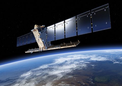 Sentinel-1A Satelite