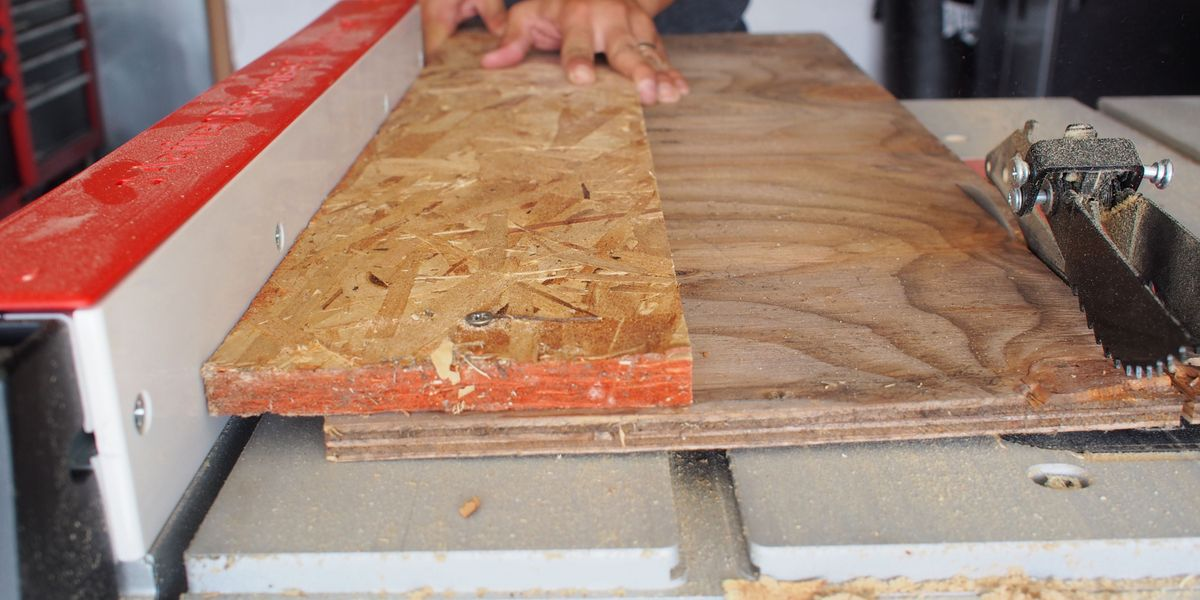 How To Straighten A Board Edge Without A Jointer