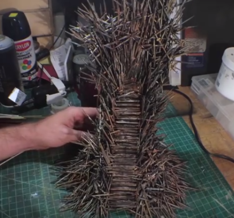 tiny iron throne