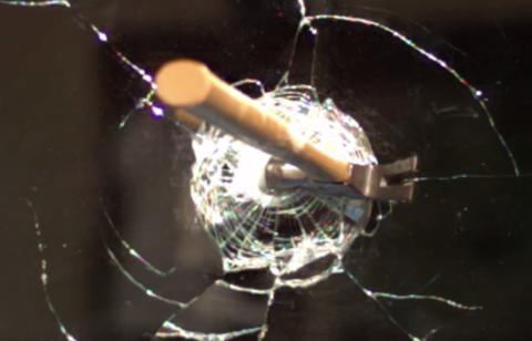 breaking hammer mirror