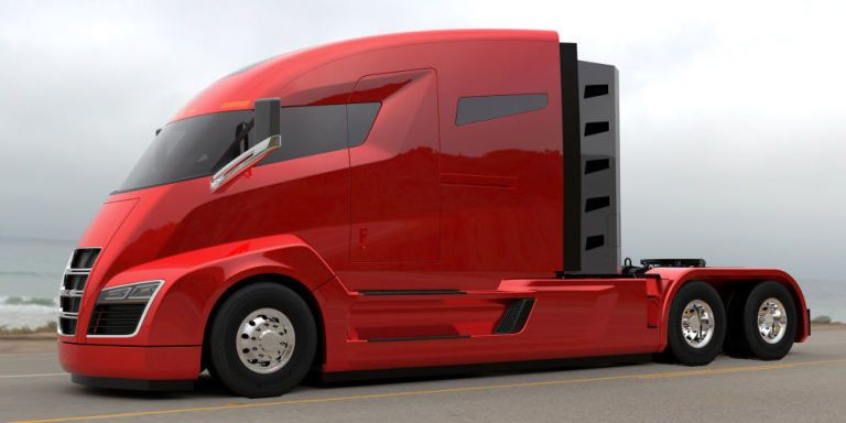 Electric Big Rig Startup Now Says Its Trucks Will Run on Hydrogen