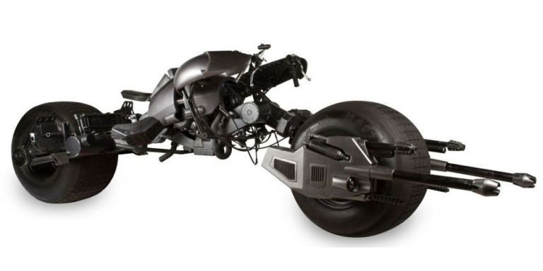 """Batman's Batcycle From """"The Dark Knight"""" Is for Sale"""