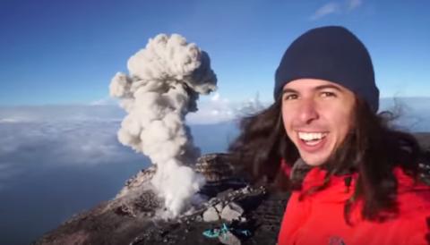 Chill Volcano Bro