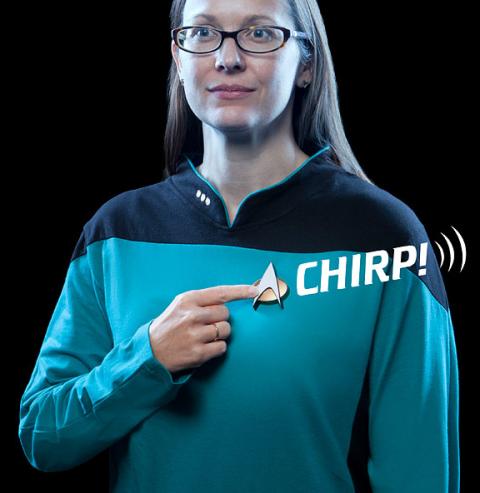 Star Trek ComBadge