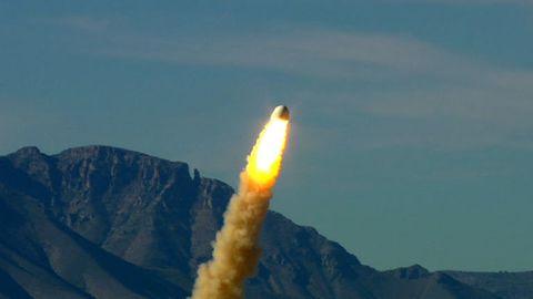 Blue Origin Capsule Eject