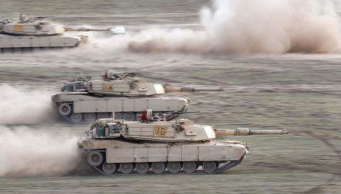 Tank, Combat vehicle, Military vehicle, Self-propelled artillery, Military organization, Army, Military, Marines, Gun turret, Soldier,