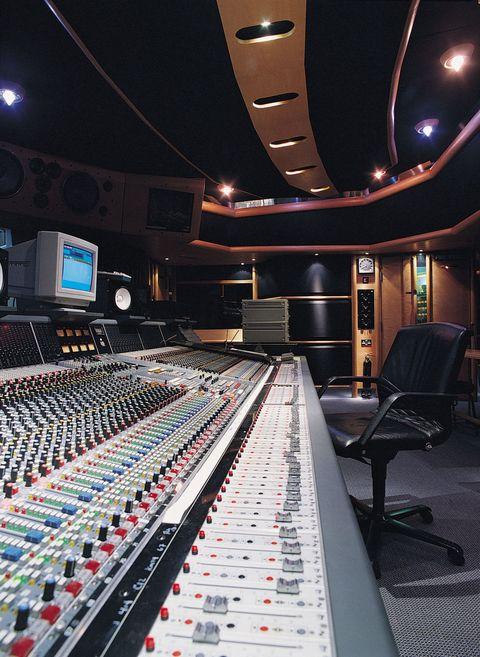 Audio Control Panel in Studio