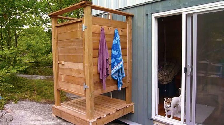 How To Build An Outdoor Shower