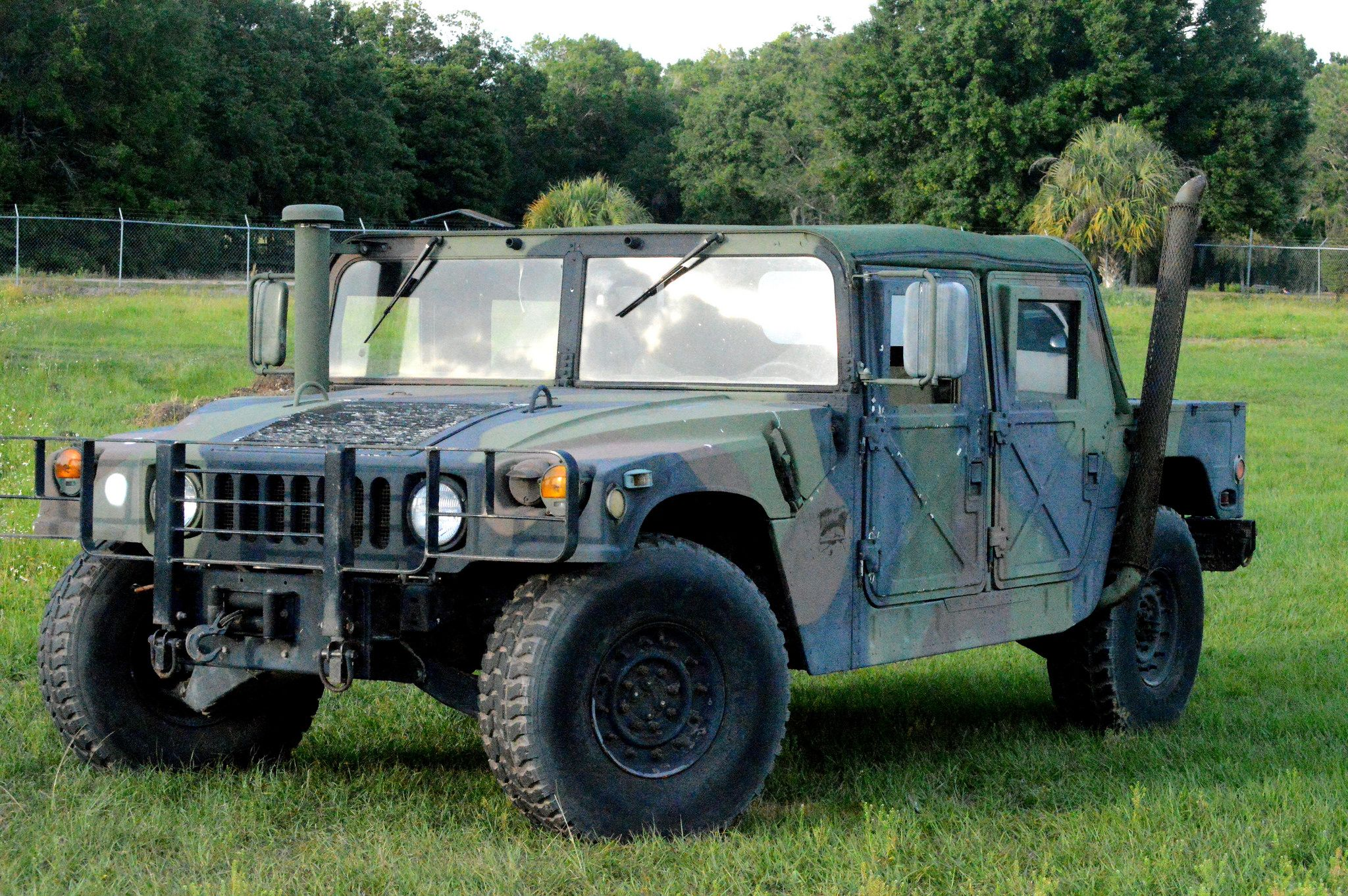 Buy a Military-Grade Humvee and Dominate Your Local Trails