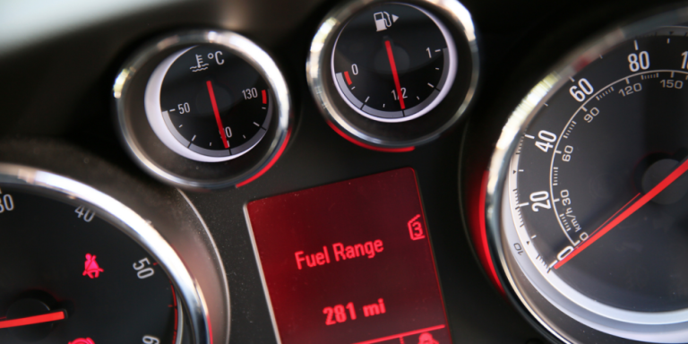 This Handy Chart Tells You How Many Miles You Can Drive on Empty