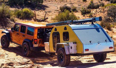 TC teardrop trailer
