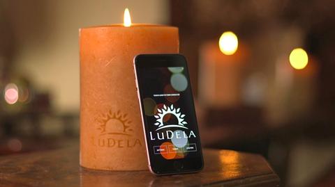 LuDela smart candle
