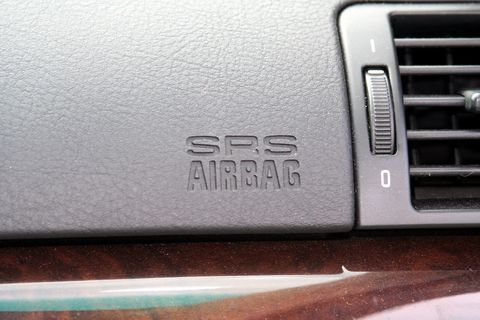 <p>Airbags can be traced all the way back to the 1950s, but those forward-thinking early designs weren't practical or reliable enough to go into cars. Luxury carmakers like Mercedes-Benz began to use modern airbags in the 1980s, and Ford made airbags standard on all its vehicles in 1990. It was the Intermodal Surface Transportation Efficiency Act of 1991, though, that required the safety tech on all cars by 1998. This law made the airbag the universal lifesaver we know today. The new rules also led to the adoption of lower-powered airbags, which reduced airbag-inflicted injuries in a crash. </p><p><br></p><p>Airbags have saved tens of thousands of people since then, and the success of driver and passenger bags lead to a proliferation of airbags around the cabin. Today, even a humble compact sedan has driver and passenger airbags in addition to side-impact airbags and side curtain airbags that trigger in the event of a rollover.</p>