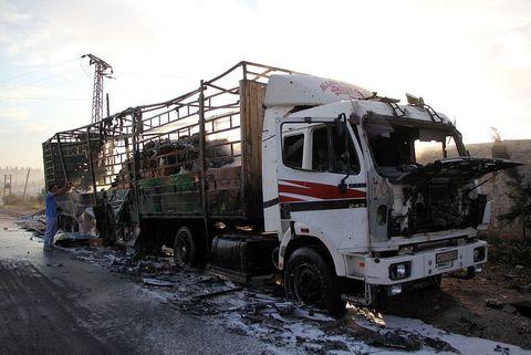 Syria aid convoy