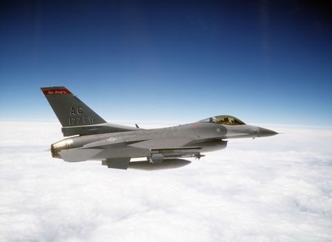 The Air Force Is Turning Old F-16 Fighters Into Drones