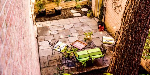 How To Build a Beautiful Bluestone Patio in One Afternoon Small Rise Backyard Stone Patio Ideas on small backyard gazebo ideas, small backyard spa ideas, small backyard bbq ideas, small backyard paving ideas, small backyard landscape ideas, small backyard lawn ideas, small backyard driveway ideas, small backyard pavers ideas, small backyard concrete ideas, small backyard fence ideas, small backyard pool ideas, small backyard deck ideas, small backyard detached garage ideas, small backyard fireplace ideas, small backyard walls ideas, small backyard brick ideas, small backyard firepit ideas,