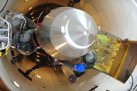 Space, Aerospace engineering, Circle, Engineering, Machine, Steel,