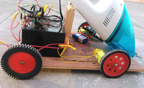A Diy Roomba Is A Project That Can Clean Up After Itself