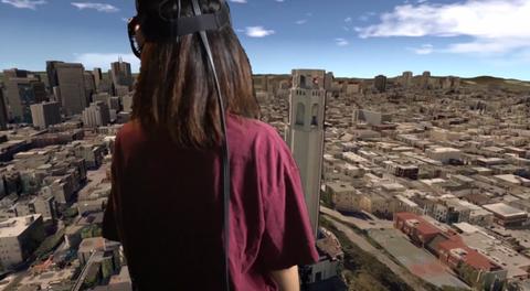City VR screenshot
