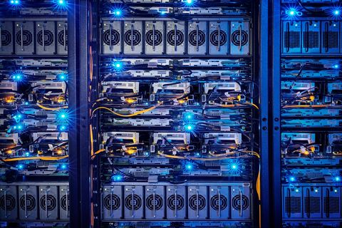 Technology, Machine, Electric blue, Majorelle blue, Server, Electrical wiring, Electricity, Electrical supply, Electronics, Electronic engineering,