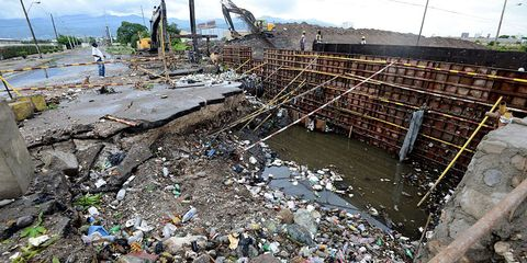 Photos of the destruction Hurricane Matthew has left behind.