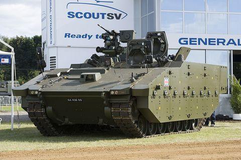 General Dynamics Unveils New U S  Army Tank Prototype