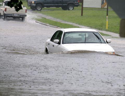 car flooding