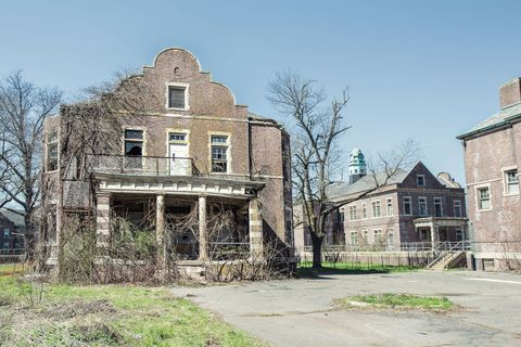 Abandoned Insane Asylum
