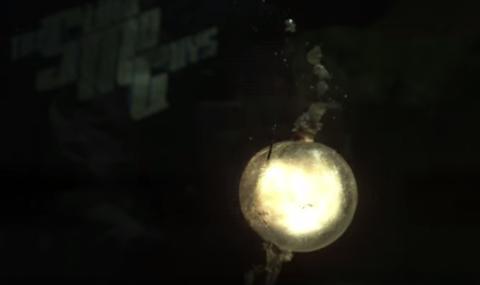 Explosion in the dark