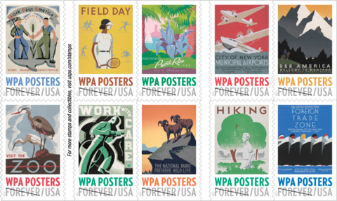 WPA Stamps