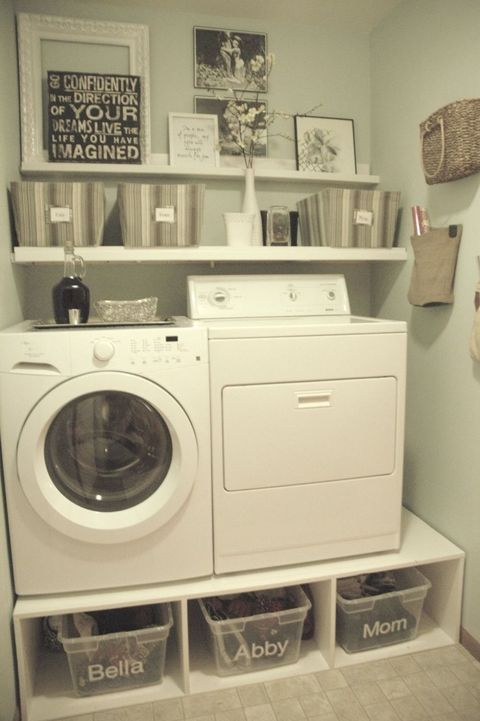 Build a washer and dryer platform to add storage and save your back image solutioingenieria Gallery